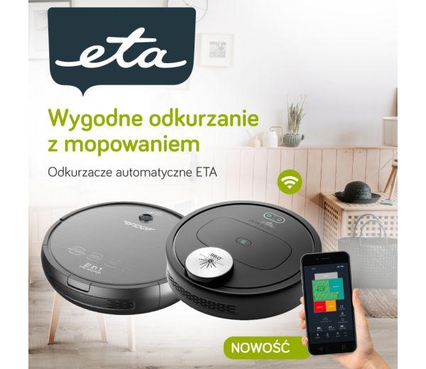 Poradnik - Odkurzacze automatyczne ETA